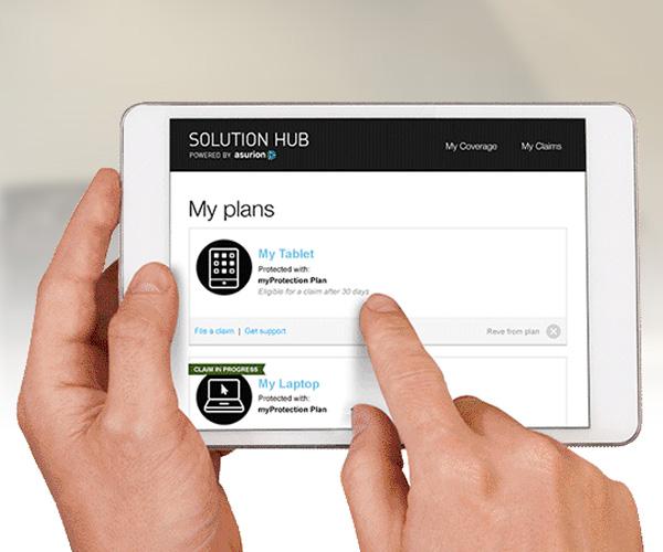 Quản lý tất cả các kế hoạch của bạn và nộp hồ sơ bồi thường trực tuyến một cách dễ dàng.