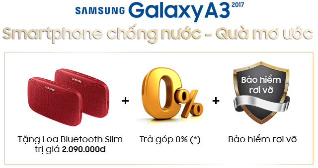 Exclusive Privileges Mobile Insurance for Galaxy A3 (2017)